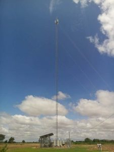 TOWER GUYED MAST 120M